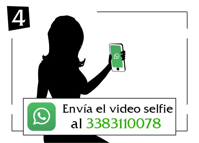 envia el video selfie lazio al